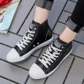 shoes woman 2017 fashion Women Canvas Shoes Classic low/high style flat shoes brand casual shoes z418