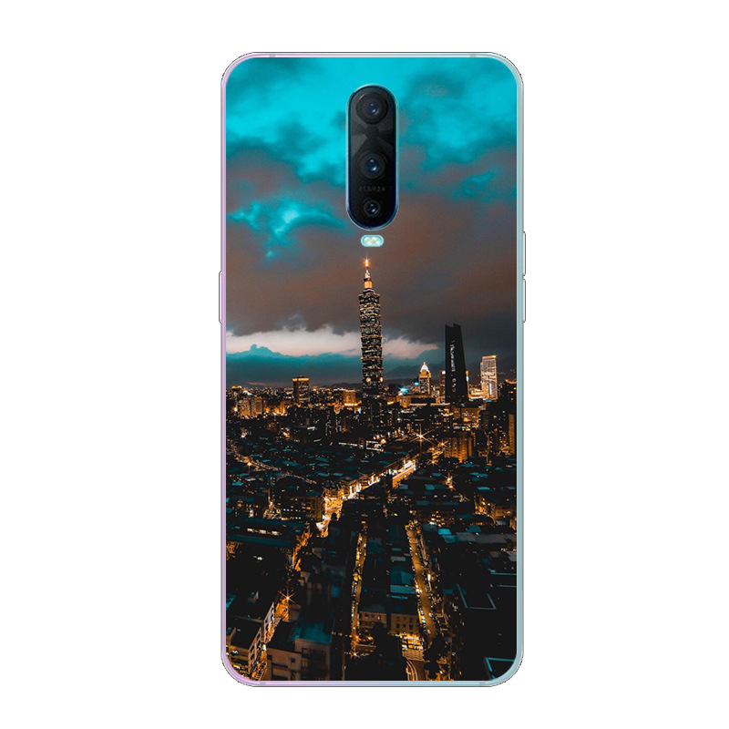 6.4\'\' For Oppo RX17 Pro Case Silicone Soft TPU Phone Case For Oppo RX17 Pro Case Cover Rx17pro RX 17 Pro R17 Pro Cute Painting