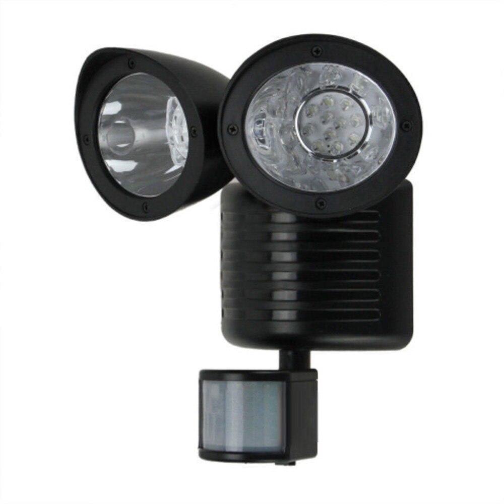 Hot Sale LED <font><b>Lighting</b></font> Solar Lamps 22 LED Solar Powered Motion Sensor PIR Security Light Garden Garage Outdoor