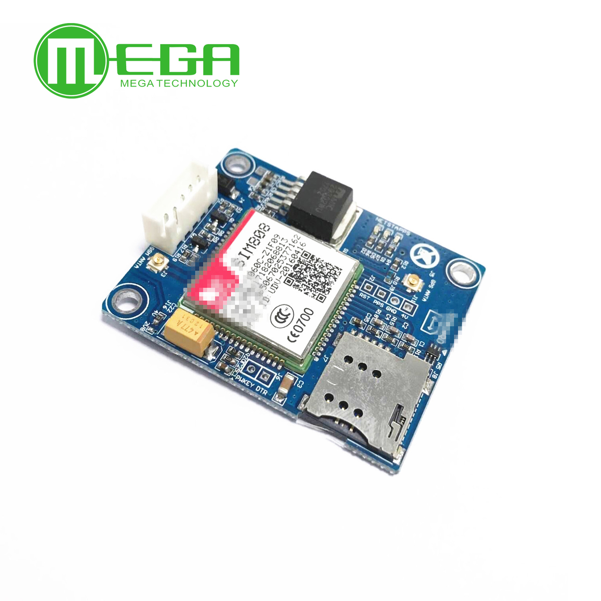 100% New SIM808 Instead Of SIM908 Module GSM GPRS GPS Development Board IPX SMA
