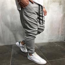 2018 hombres pantalones lápiz fuerte sólido brazalete estilo coreano Casual  pantalones largos Slim Fitness jogger Pantalones ad64155b704e