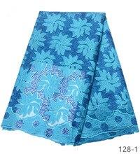 2019 Yeni stil Fransız net dantel kumaş Afrika tül mesh dantel kumaş yüksek kalite nijeryalı dantel kumaşlar. ücretsiz kargo 128