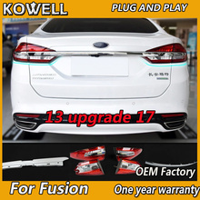 Car Styling For Ford Mondeo Fusion 2013 2016 Taillights update 2017 taillight LED Tail Lamp Rear Lamp DRL+Brake+Park+Signal
