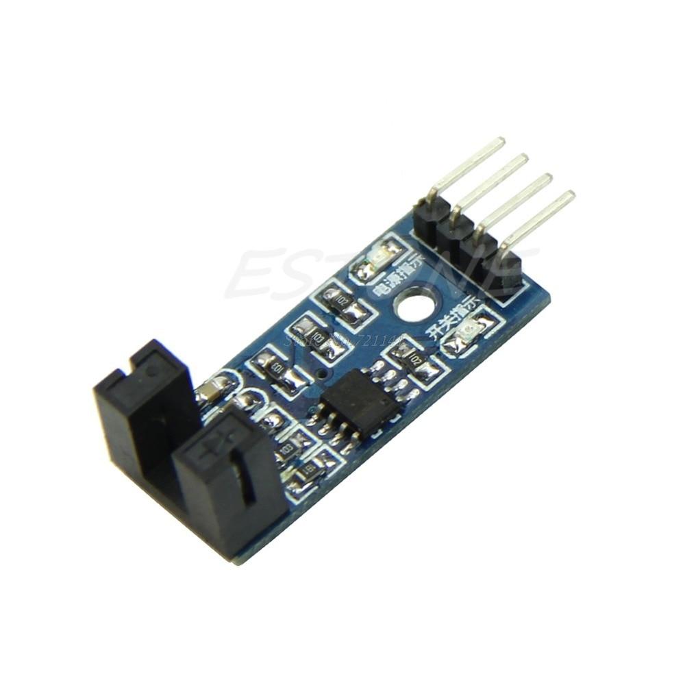 Slot Type Optocoupler Module 3.3V-5V LM393 Comparator Slot-Type For Arduino D