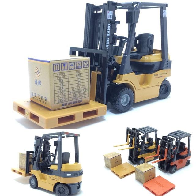 1:60 échelle alliage modèle voiture alliage ingénierie véhicules ascenseur chariot élévateur boîte cadeau simulation chariot élévateur enfants jouets livraison gratuite