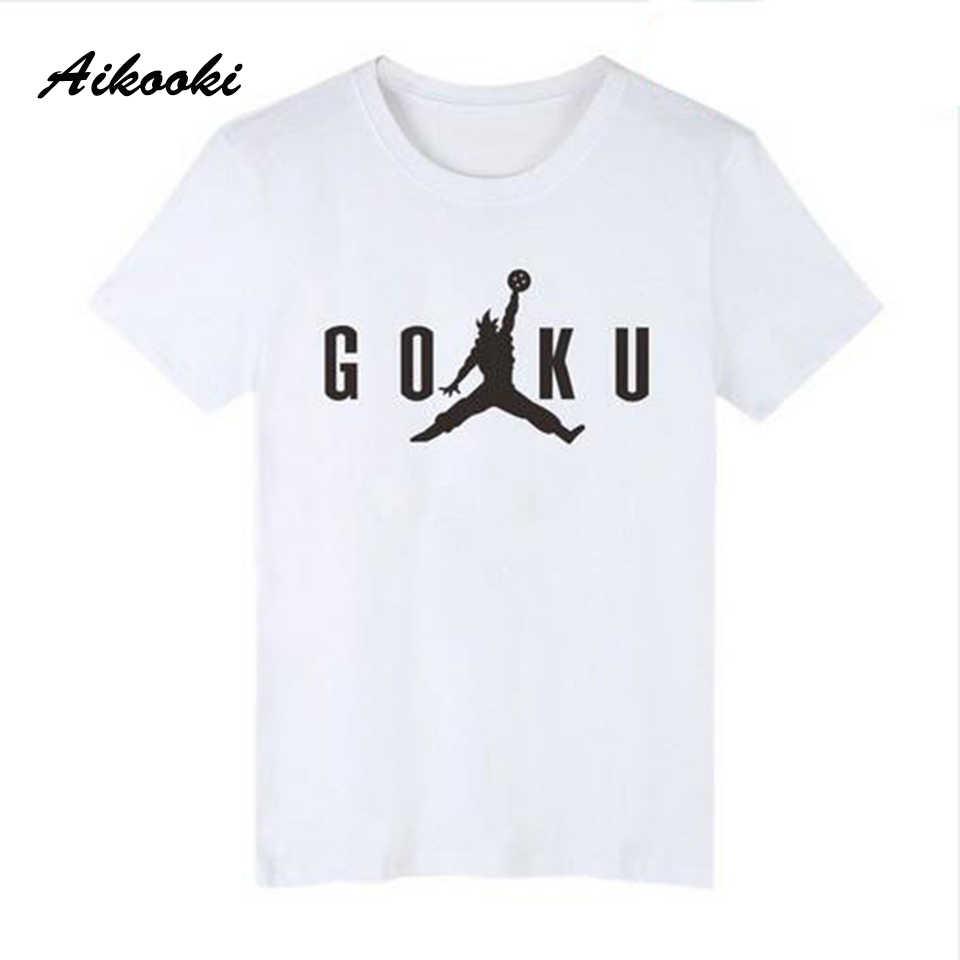 Aikooki Лето Хлопок повседневное хип хоп мужской женский футболки Новый Сон Гоку футболки для мужчин женщин популярные модные короткий рукав футболк