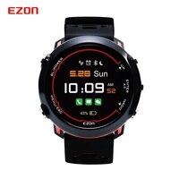 Relogio Masculino EZON Smart Bluetooth 2 GPS Sport Watch Men Waterproof Optical Heart Rate HD Screen Digital Wrist Watch Clock
