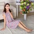 Free Shipping Ladies Sexy Cotton Nightwear Lace Women Sleepwear Fashion Nightdress Sexy Nightgown WHZS011