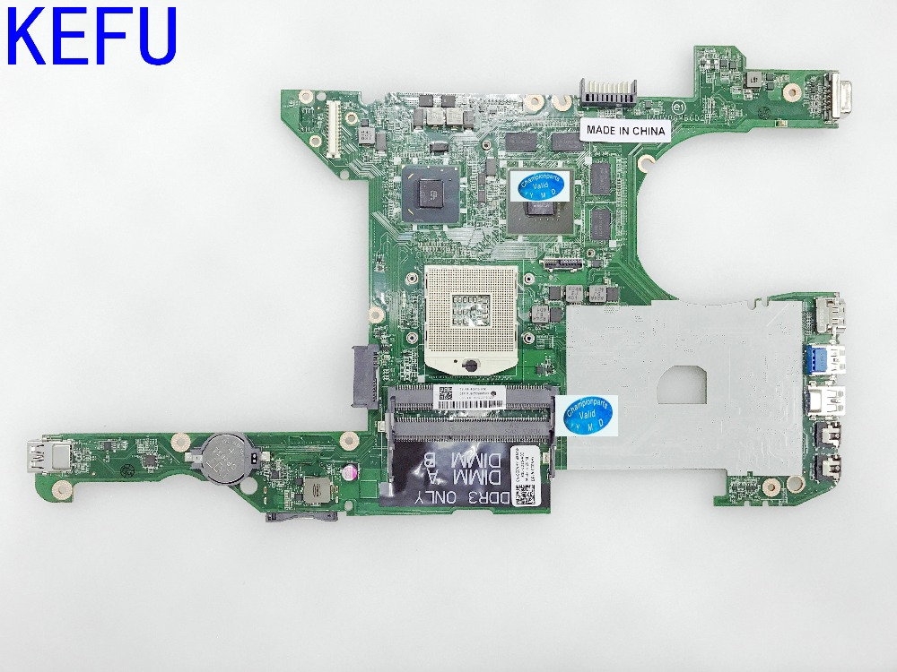 HOT IN Brazil KEFU NEW DA0V08MB6D2 REV : D Laptop Motherboard for Dell VOSTRO 3460 Notebook PC VIDEO CARD N13P-GL-A1 ноутбук dell latitude 3460 3460 4506
