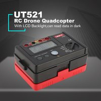 UNI T UT521 200V Megger Insulation Earth Ground Resistance Tester Megohmmeter Voltmeter Tester Double Insulation Protection