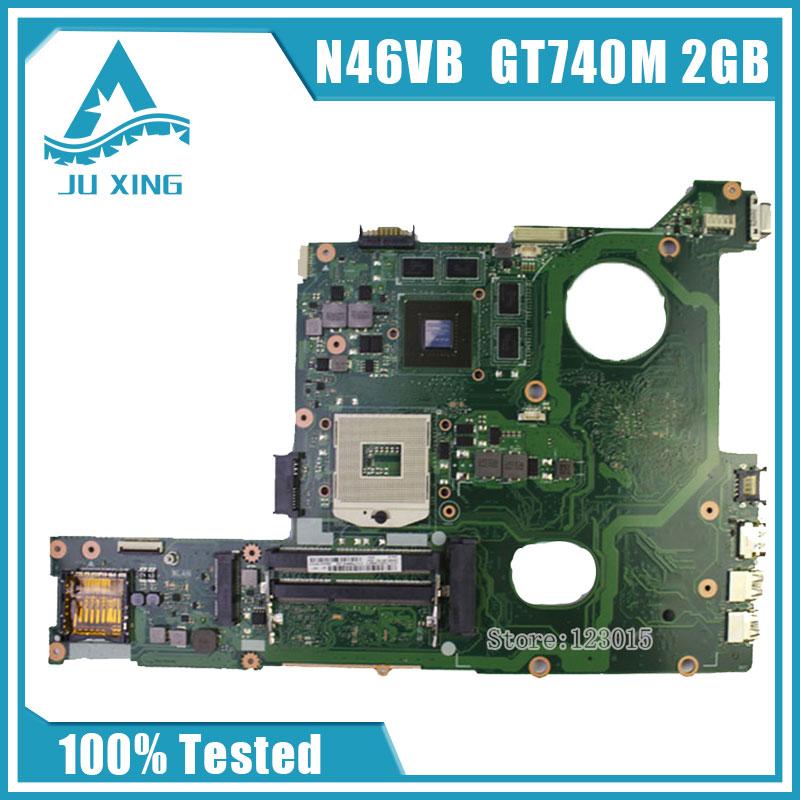 все цены на Original for ASUS N46VB GT740M with 2GB DDR3 VRAM motherboard Non-integrated fully test ok онлайн