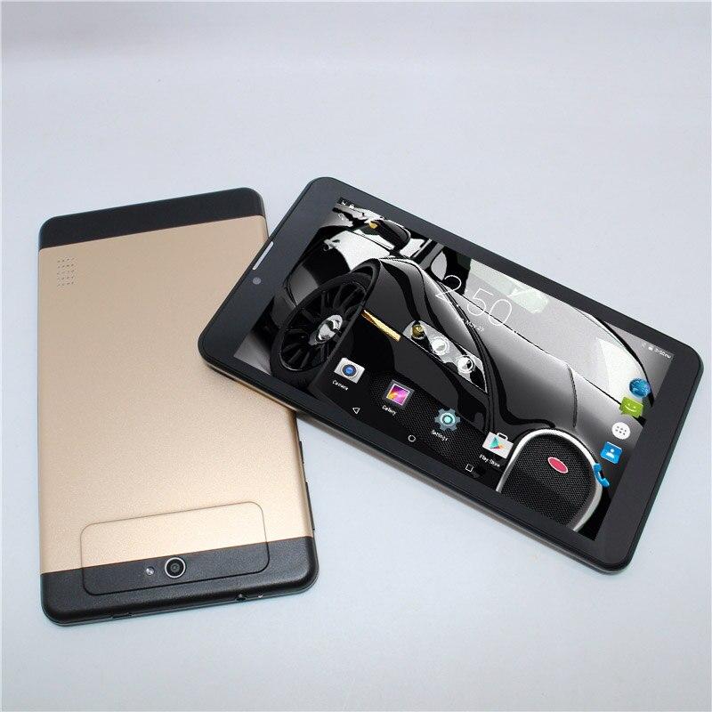 7 pouce 1 gb + 8 gb MTK6735 Déverrouiller 4g LTE Android 5.1 Appel Téléphonique Tablet PC Phablet quad core WIFI GPS Bluetooth FM g-capteur