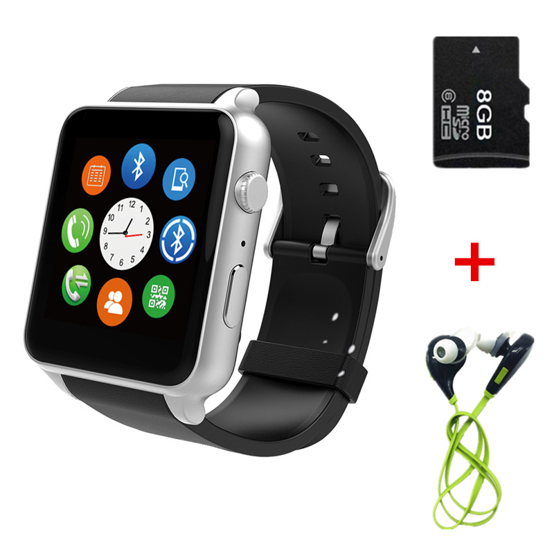 Waterproof Smart Watch GT88 WristWatch Heart Rate Health Fitness Measure with GSM GPRS SIM Card Camera