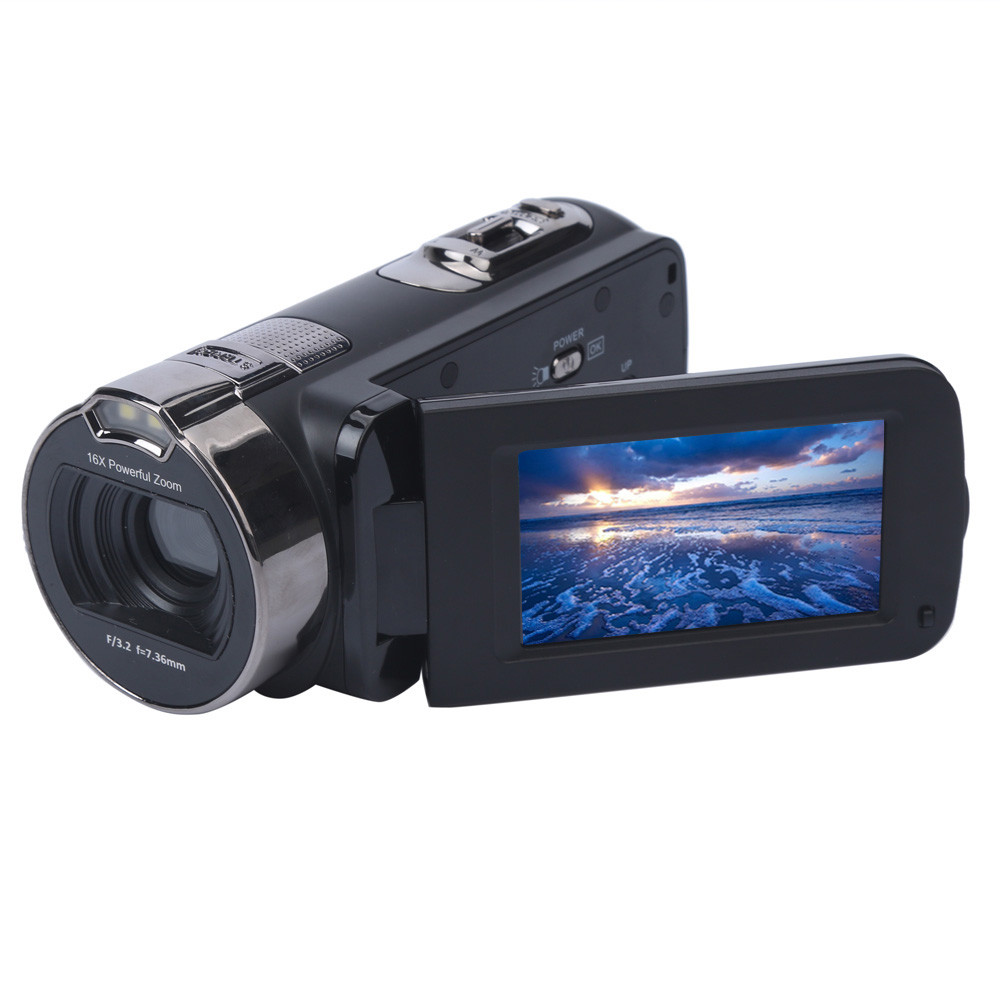 FHD 1080P 24MP Digital Video Camcorder Camera DV HDMI 2.7'' TFT LCD 16X ZOOM 24.0 Mega-pixels CMOS Sensor With Protective Bag
