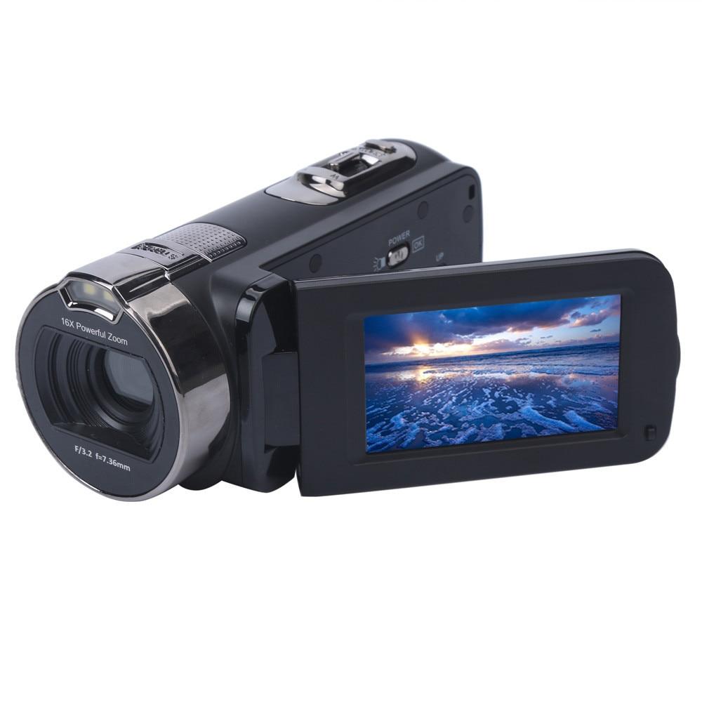 FHD 1080P 24MP Digital Video Camcorder Camera DV HDMI 2.7'' TFT LCD 16X ZOOM 24.0 Mega-pixels CMOS Sensor With Protective Bag
