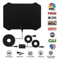 300miles Indoor TV Antenna for Digital Television Magnetic TV Antena Radius Aerial HDTV Booster Satellite Receiver Radio Antenna