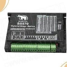 Топ драйвер серводвигателя SS570, 7.0A, 20-50VDC Nema 23 серводвигателя s, Wantai ЧПУ гравер, резак, лазер