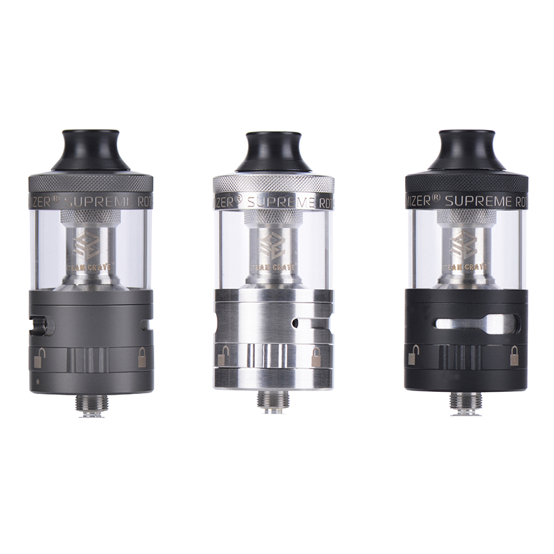 Original Steam Crave Aromamizer Supreme V2 RDTA Tank 5ml Rebuildable Dripper tank top refill Atomizer for 510 Vape Box MOD