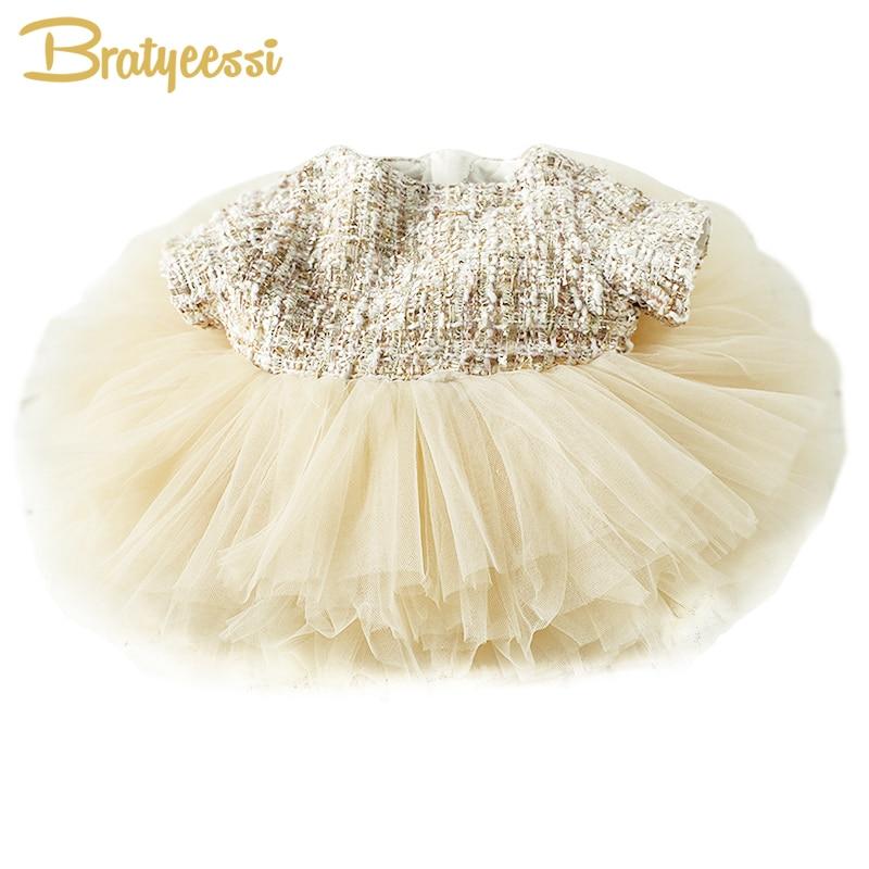 Moda formalna dziewczynek sukienka letnia suknia Baby Girl Party - Odzież dla niemowląt - Zdjęcie 1