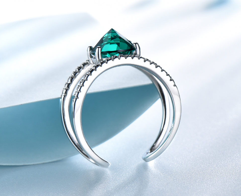 UMCHO-Emerald-silver-sterling-rings-for-women-RUJ074E-1-PC_04