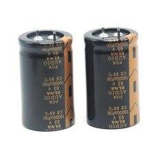 все цены на 2pcs 10000uF 63V ELNA FOR AUDIO Audio Hi-Fi Electrolytic Capacitor онлайн