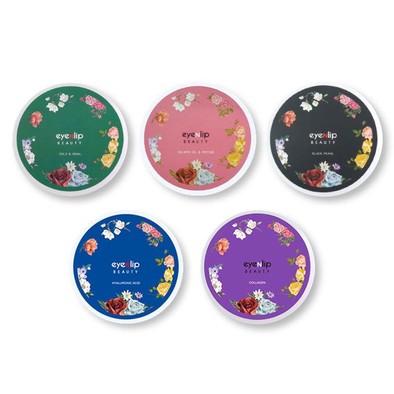 Korea Cosmetic EYENLIP Hydrogel Eye Patch 1pcs Gold Snail Collagen Eye Mask Hyalurinic Acid Anti Dark Circle Skin Care Face Mask