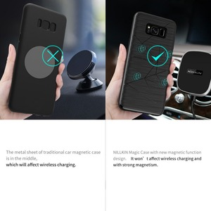 Image 4 - For Samsung Galaxy S8 Plus S10 Nillkin Wireless charging receiver Magic case For Galaxy S8 S9 case cover wireless charger case