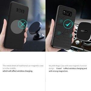 Image 3 - Per Samsung Galaxy S8 Plus Nillkin ricevitore di ricarica Wireless custodia magica per Galaxy S10 Plus custodia cover caricabatterie wireless