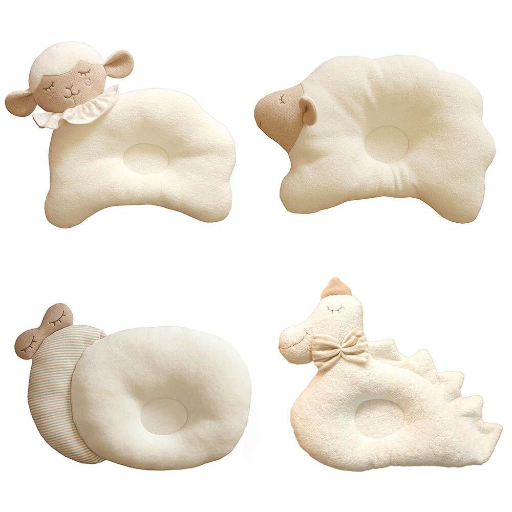 Organic Cotton Baby Protective Pillow Cloud Lamb