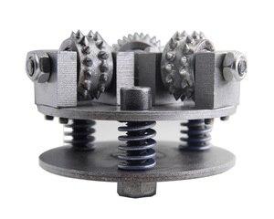 Image 2 - 5 بوصة 125 مللي متر عجلة مطرقة بوش M14 M16 5/8  11 التخصيص أكثر من ذلك بكثير حجم عجلة سبيكة لالجرانيت سطح الليتشي الرخام