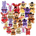 14cm / 25cm Five Nights At Freddy's FNAF Plush Toy Freddy Foxy Bonnie Chica Stuffed Animal Dolls for Kids figure Toys