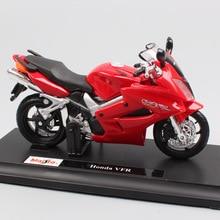 1/18 scale Maisto Honda VF VFR800  Interceptor V4 VTEC motorcycle Sport touring bike diecast toy models miniature for collectors