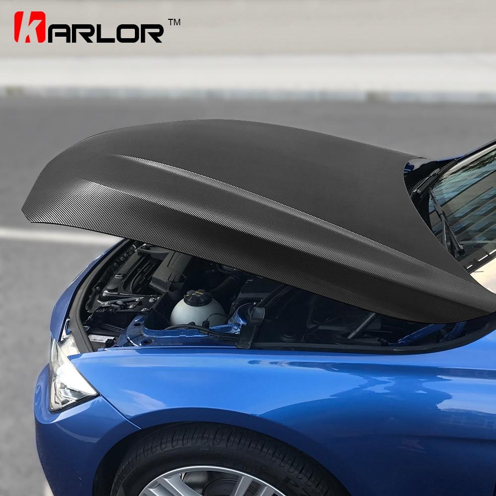 152cm * 200cm 4D Carbon Faser Vinyl Film Auto Styling Wrapping Blatt Rolle Film Autos DIY Auto Haube dach Aufkleber Zubehör