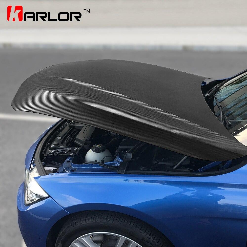 152cm * 200cm 4D Fiber de carbone vinyle Film voiture style emballage feuille rouleau Film Automobiles bricolage voiture capot toit autocollants accessoires