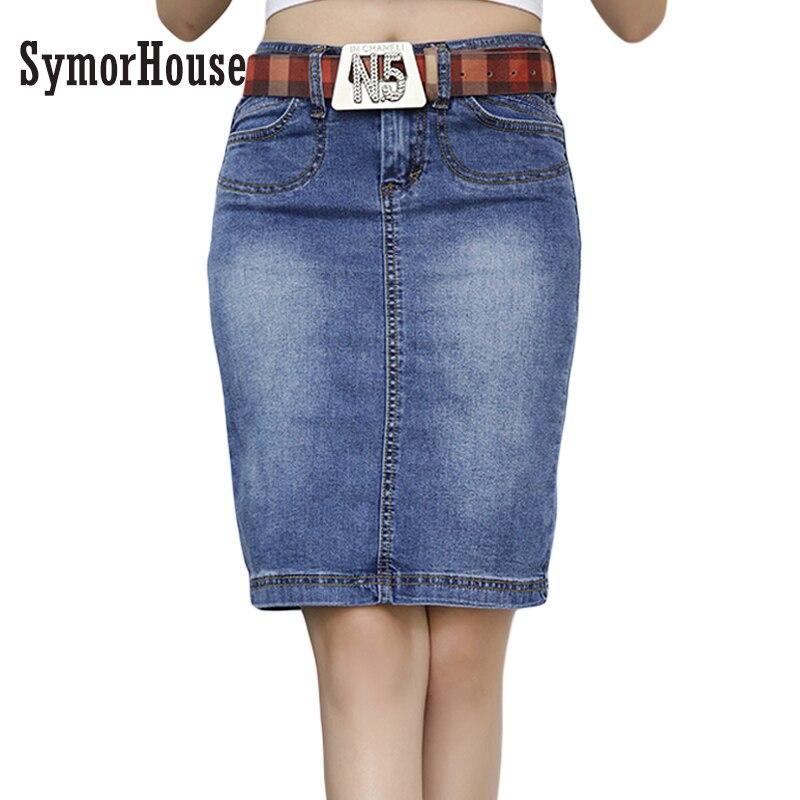 Джинсовые юбки больших размеров недорого