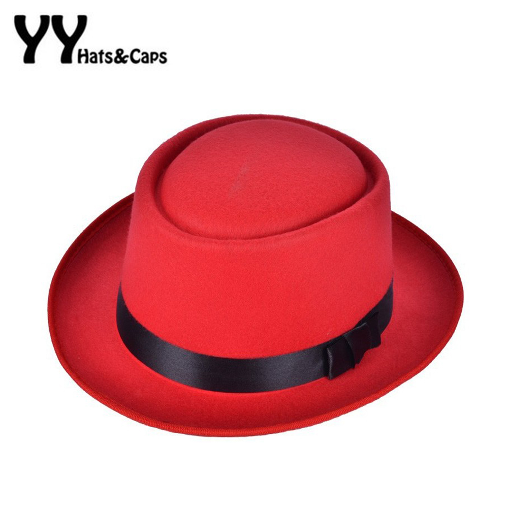 Detail Feedback Questions about Retro New Womens Felt Fedoras Pork Pie  Crushable Hat BREAKING BAD Hat Walter for Men Trilby Wool Cap Chapeu de  Feltro 6 ... b28dc68144f9