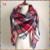 Za invierno tela escocesa del nuevo diseñador de gran tamaño manta de acrílico unisex abrigo de cachemira pashmina mantón de la bufanda para el otoño del resorte 140x140 CM