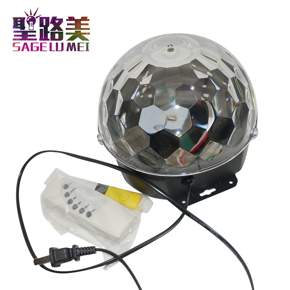 18W Bluetooth LED disco ball light remote control music ball stage effect soundlights DJ magic ball project laser party lights18W Bluetooth LED disco ball light remote control music ball stage effect soundlights DJ magic ball project laser party lights