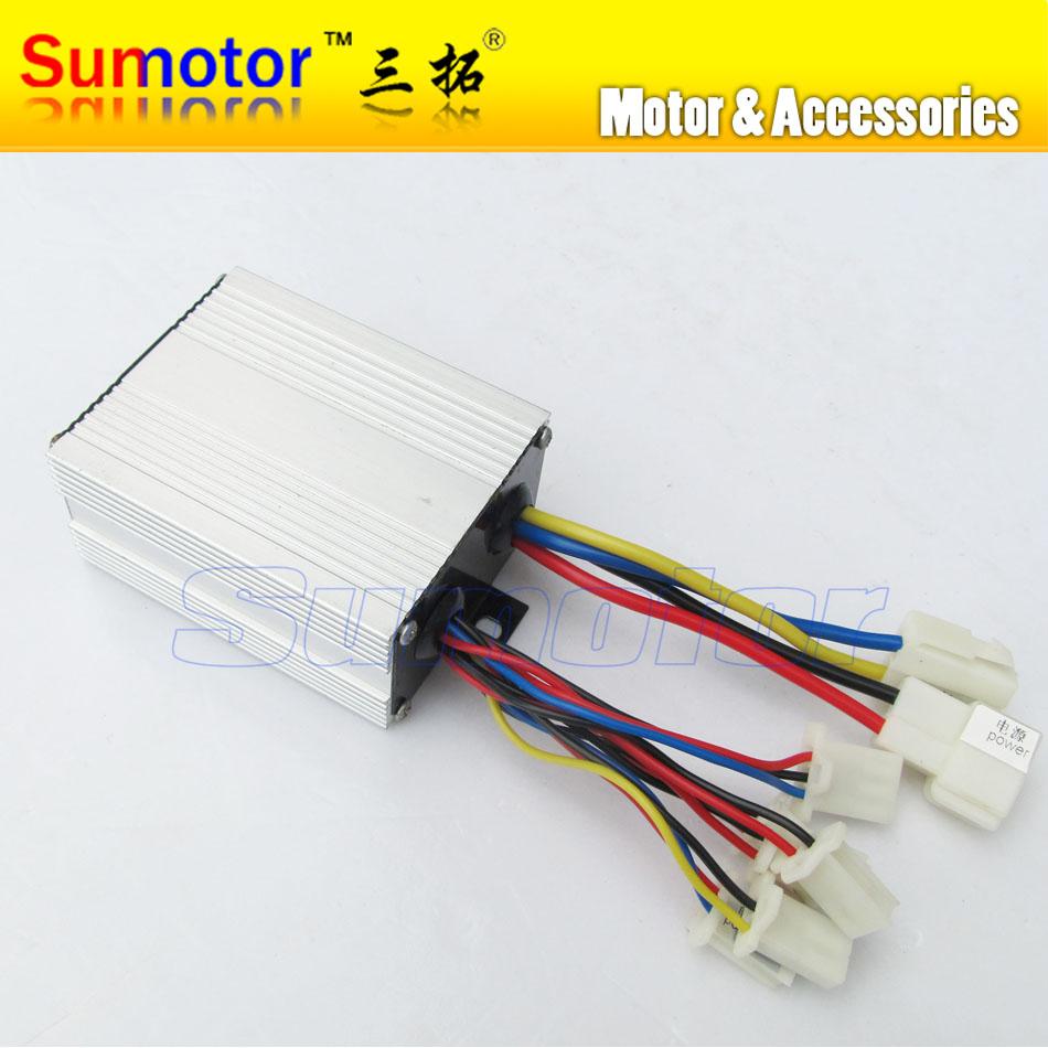 24V 250W brush speed controller, for motor electric bicycle without handle, electric bike controller, e-bike controller scooter