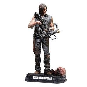 Image 3 - Figurine AMC The Walking Dead, jouet à collectionner, modèle en PVC, 15CM, jouet Daryl Rick Negan, cadeau pour enfant