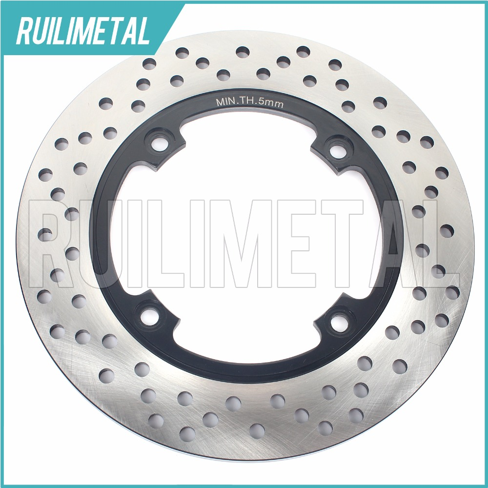 Rear Brake Disc Rotor for 916 Racing 916 Senna SP SPS 996  Biposto Monoposto R  S SPS  II 998  Biposto 2002 2003 02 03 new rear brake disc rotor racing street bike for motorcycle supermoto burgman 650 an650 2002 2003 free shipping