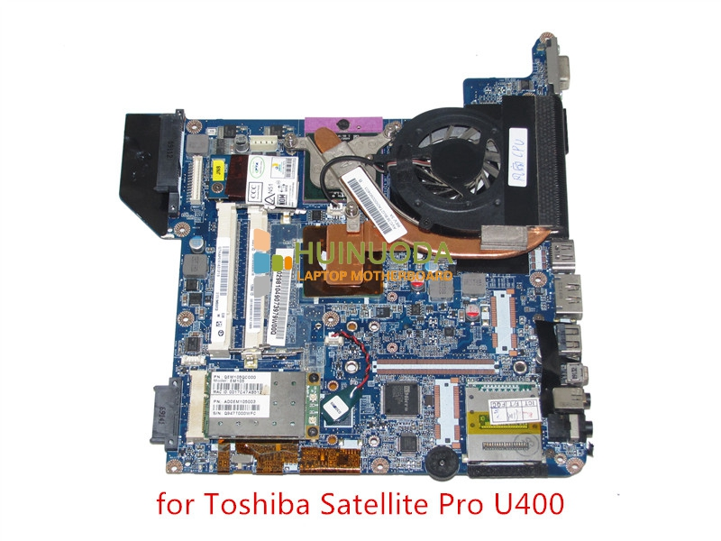GENUINE A000029810 Laptop motherboard for toshiba satellite U400 laptop main board GM45 DDR2 without graphics slot