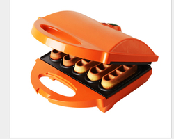 Waffle Pie Machine Electric Cake Childrens Food DIY Grilled, branded, fried Double-sided Heating Cake