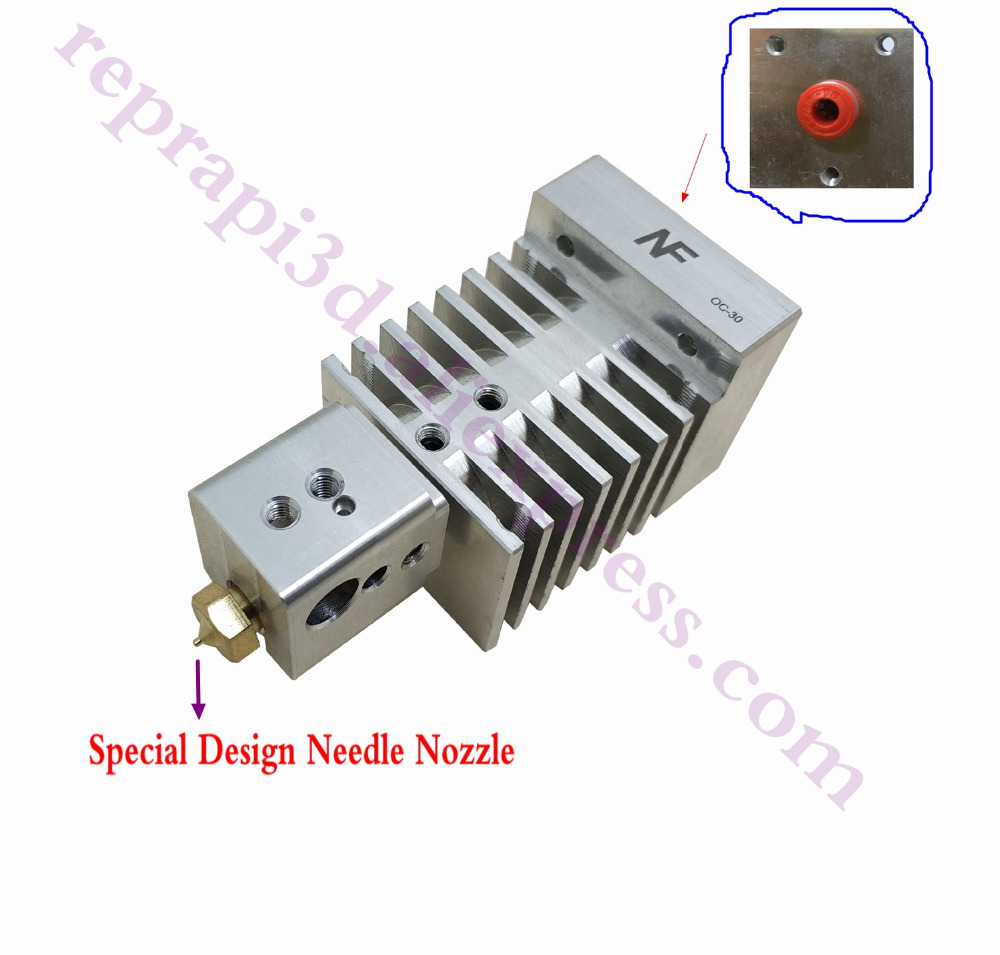 New,3D Printer More than 400degree High temperature Hotend High Speed Bowden Extruder Compatible w/ Titan, Bulldog, MK8 extruderNew,3D Printer More than 400degree High temperature Hotend High Speed Bowden Extruder Compatible w/ Titan, Bulldog, MK8 extruder