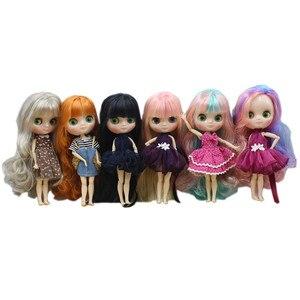 Image 1 - Oferta especial blyth médio boneca moda 20cm comum & corpo normal adequado para diy frete grátis presente brinquedo