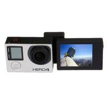Для Go Pro Аксессуары Высокого Качества SupTig Селфи Фото и Видео камеры ЖК-Конвертер для GoPro HERO4 3 + 3 Спорт Камеры