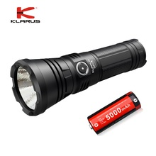 KLARUS G20L CREE Next Gen. XHP70.2 P2 3000 lumens Micro-USB Charging Port LED Flashlight Tactical Light with 26650 Battery недорого