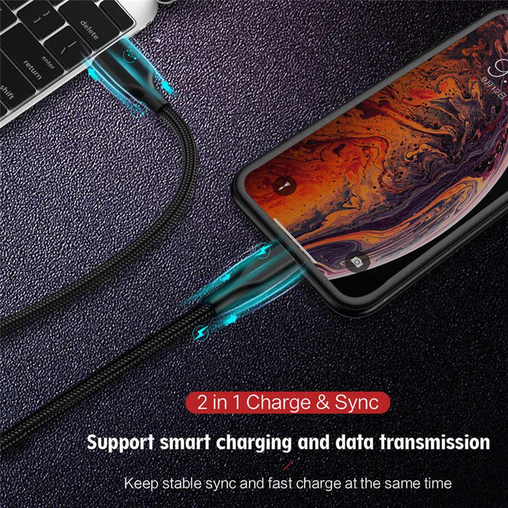 マイクロ USB ケーブル高速充電 1 メートル 2 メートル Xiaomi USB 充電器データケーブルは、サムスン/Huawei 社マイクロ usb アンドロイド携帯電話ケーブル
