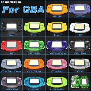 Image 1 - ChengHaoRan עבור Gameboy Advance מעטפת מלא שיכון מקרה מעטפת עבור נינטנדו GBA דיור מקרה קונסולת כפתורי בורג נהג