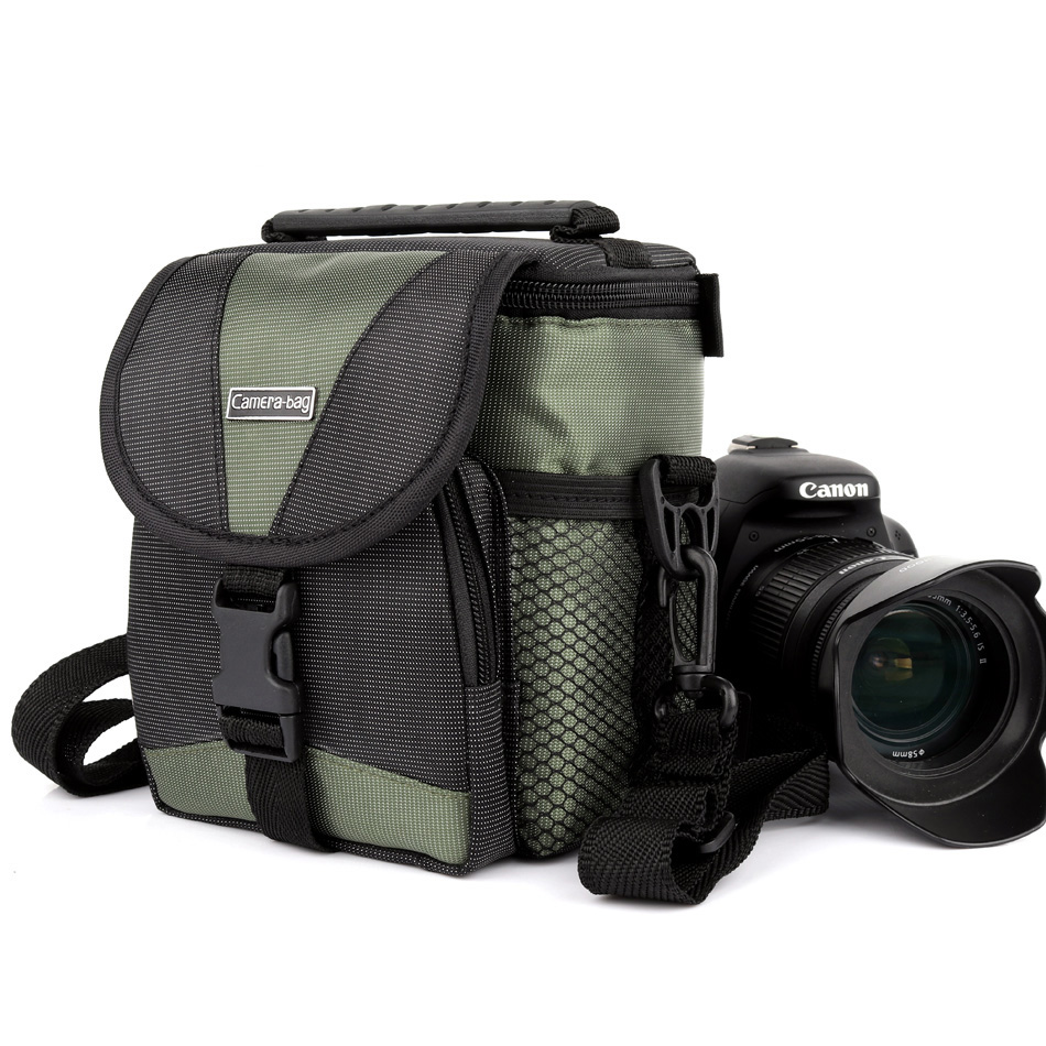 2018 Digital Camera <font><b>Bag</b></font> For Panasonic GX80 <font><b>Lumix</b></font> <font><b>LX100</b></font> Fujifilm X100F X-T20 XT2 Canon Sony Camera Case Shoulder Photo Mini <font><b>Bag</b></font> image